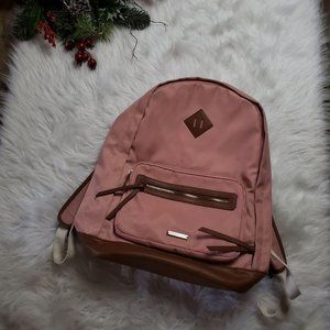 Madden Girl Womens Peach Color Backpack